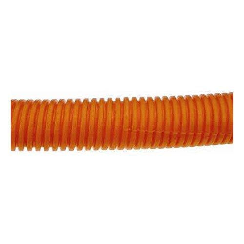 25mm Orange Plastic Flexible Conduit Cable Tidy Tube 100m