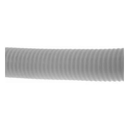 25mm White Plastic Flexible Conduit Cable Tidy Tube 50m