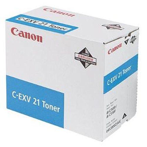Canon C-EXV21 Cyan Toner Cartridge 0453B002