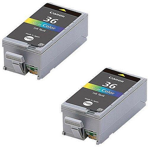 Canon CLI-36 Colour Inkjet Cartridges Twin Pack 1511B018
