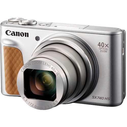 Canon Powershot SX740 Silver HS Camera CO65771
