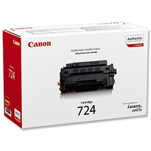 Canon 724 Black Laser Toner Cartridge 3481B002AA