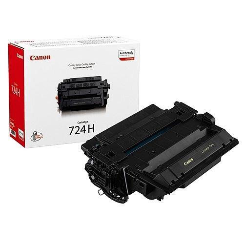 Canon 724H Black High Yield Toner Cartridge 3482B002AA