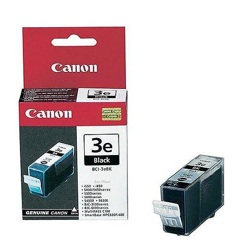 Canon BCI-3eBK Black Ink Cartridge 4479A002