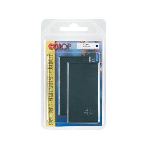 Colop Replacement Ink Pad E/50 to suit Colop Printer L50, Soft 50 Rubber Stamps Blue