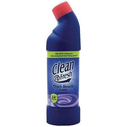 Clean&resh Thick Bleach Bathroom Disinfectant Cleaner 750ml Pack of 1 1016011