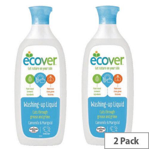 Ecover Washing Up Liquid 500ml Pack of 2 VEVWUL