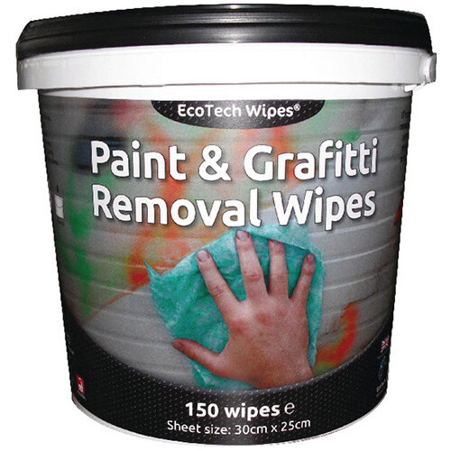 Ecotech Paint Grafitti Wipes Tub 150