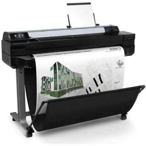 "HP DesignJet T520 Ink-Jet Printer 36"" Large-Format Printer Colour 2400x1200dpi, USB 2.0, LAN, Wi-Fi, Roll (91.4 cm x 45.7 m)"