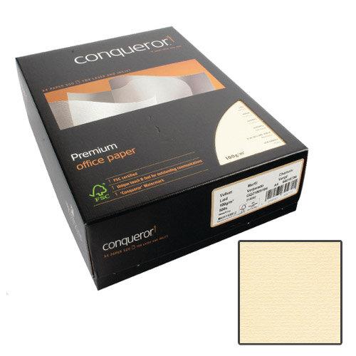 Conqueror Laid Texture Vellum Premium Paper A4 100gsm 500 Sheets