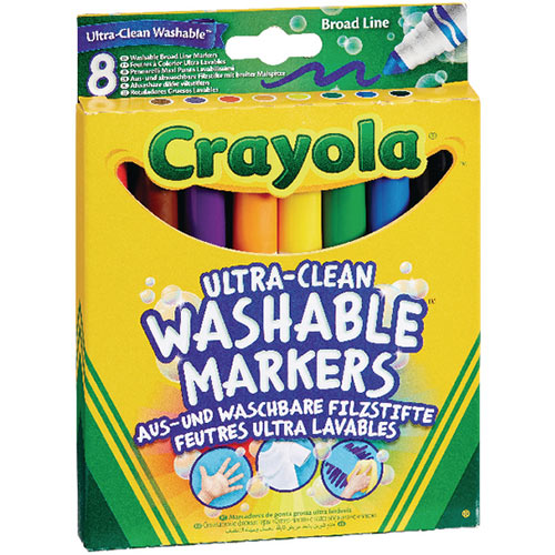 Crayola Ultra Clean Washable Markers Pack of 48 58-8328-E-000