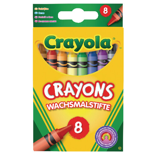 Crayola Assorted Colouring Crayons Pack of 192 2.0008