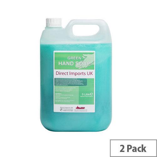 B104 Clear Antibacterial Hand Soap (5L x 2)