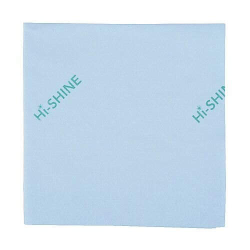 Hi-Shine Glass Colour Coded Cleaning Cloths Green 40x40cm Pack of 10 MIDHG410O