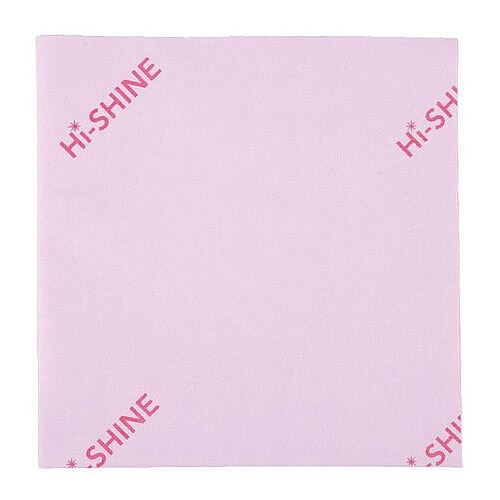 Hi-Shine Glass Colour Coded Cleaning Cloths Red 40x40cm Pack of 10 MIDHP410O