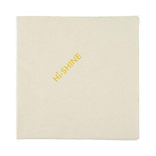 Hi-Shine Glass Colour Coded Cleaning Cloths Yellow 40x40cm Pack of 10 MIDHY410O