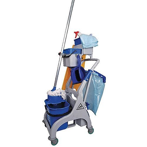 Socket Mop Quick Response Trolley Bucket and Wringer MWVS3B01L