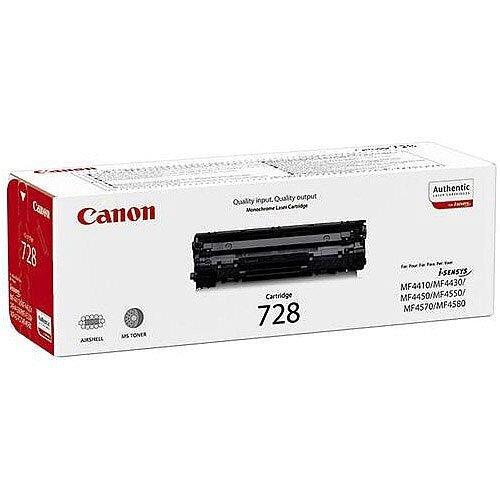 Canon 728 Black Laser Toner Cartridge 3500B002