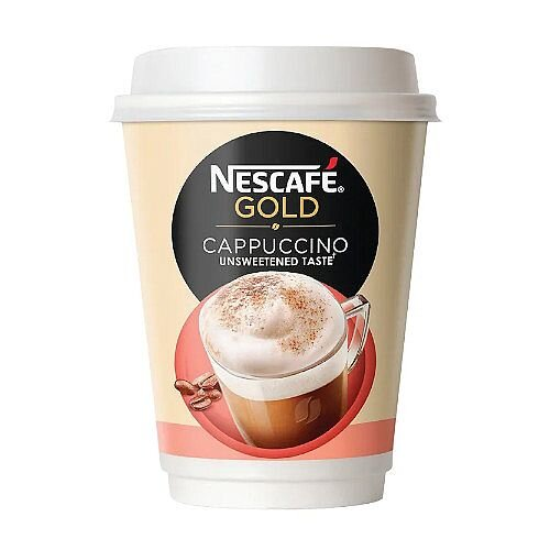 Nescafe&o Cappuccino Foil Sealed Cups Pack 8