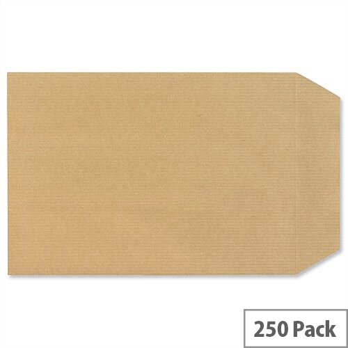 New Guardian C5 Manilla 130gsm Envelopes Self Seal Pocket Pack 250 Ref D26103