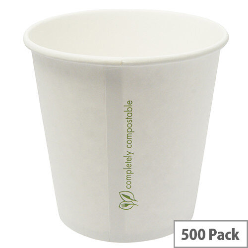 05330afaaf6 Compostable 24oz/709ml Disposable Container Hot or Cold Treats Ice Creams  Soups Pack of 500