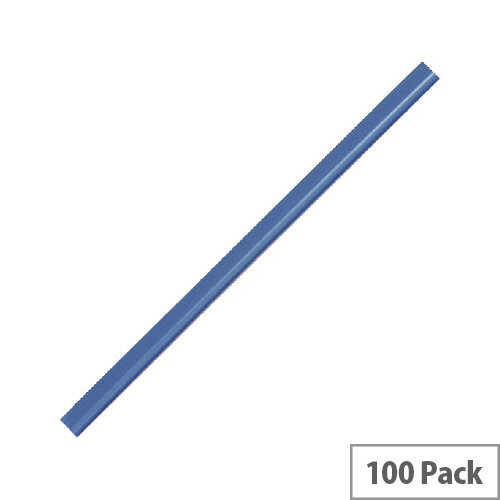 Durable Spinebar A4 6mm Blue Pack of 100 2901/06
