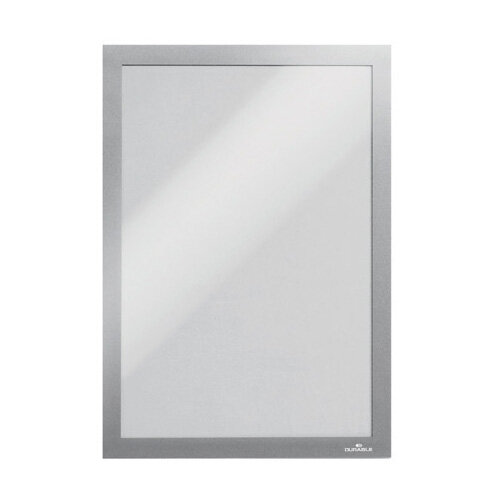 Durable Duraframe Wallpaper A4 Silver Pack of 10 488223