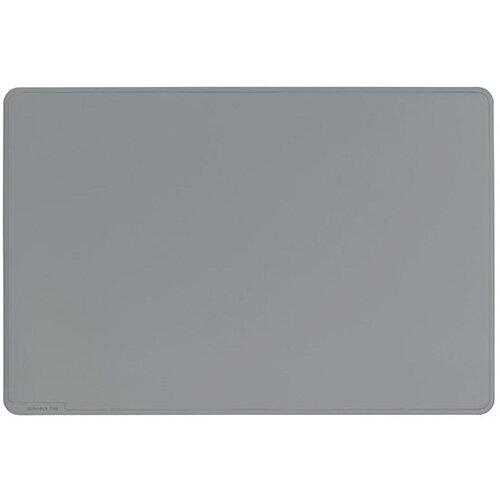 Durable Desk Mat Contoured Edge 530 x 400mm Grey 710210