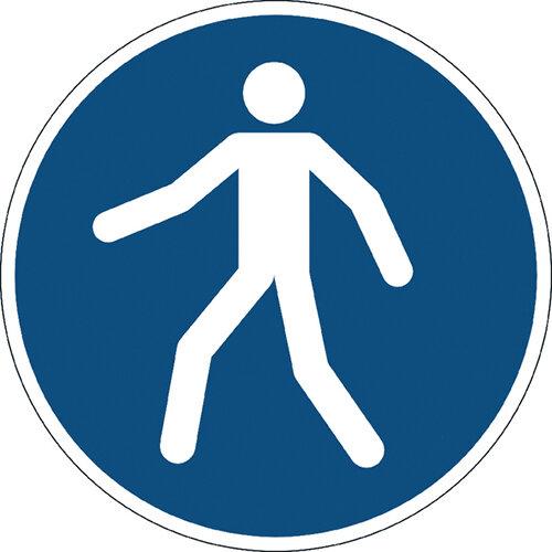 Durable Use Walkway Floor Sign 173106