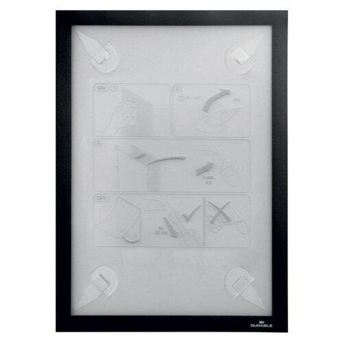 Durable Duraframe Wallpaper A4 Black 4843