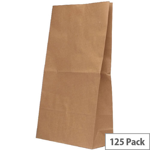 Paper Bag Brown W360 x D260 x H520mm 12.7kg (Pack of 125) 302172