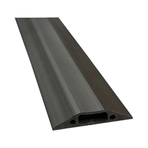 D-Line Black Medium Duty Floor Cable Cover 9m Long 83mm Wide FC83B/9M