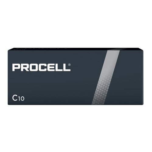 Duracell Procell C Batteries Pack of 10 5007609