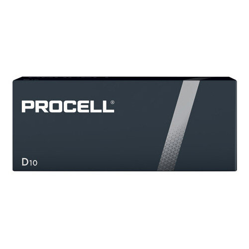Duracell Procell D Batteries Pack of 10 5007610