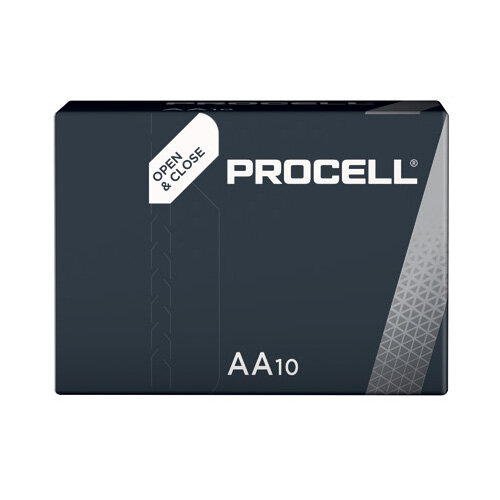 Duracell Procell AA Industrial Batteries (Pack of 10) Ref. 5007616