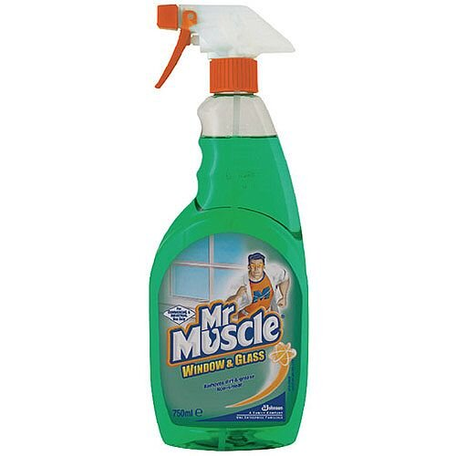 Mr Muscle Window and Glass Cleaner Spray Bottle 750ml 7516583 174495