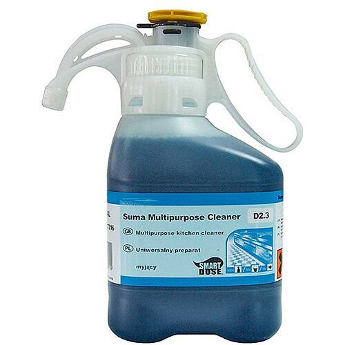 Diversey SmartDose Multipurpose D2.3 Kitchen Cleaner 1.4 Litres Pack of 2 7517316