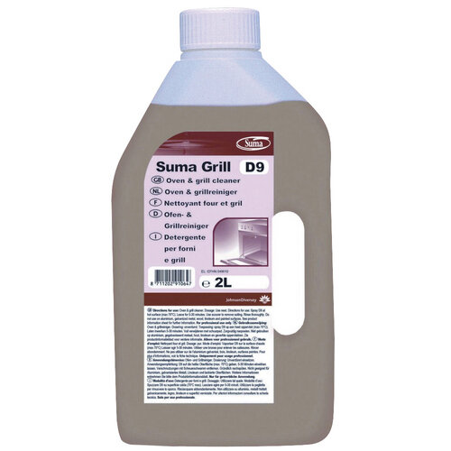 Diversey Suma Max D9.2 Oven and Grill Cleaner 2 Litre Pack of 6 100889123