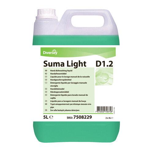 Diversey Suma Light D1.2 Dishwashing Liquid 5 Litre Pack of 2 7508229
