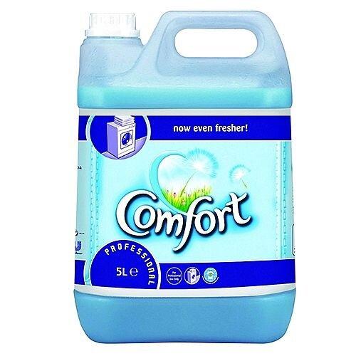 Comfort Professional Original Liquid Fabric Softener 5 Litre 200 Washes each (2 Pack) 7508496
