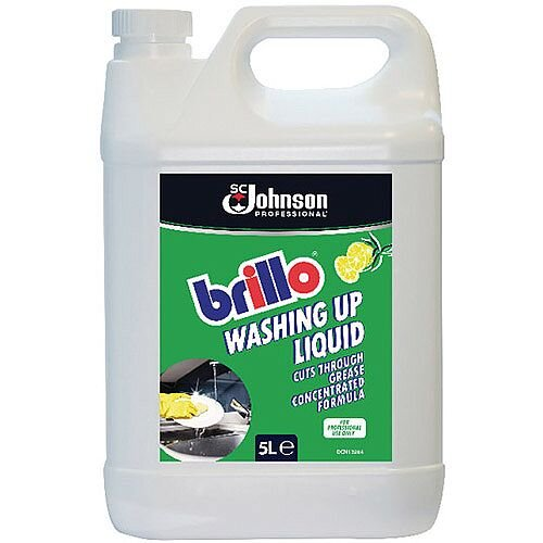 Brillo Concentrated Washing Up Liquid 5 Litre Pack of 1 7511568
