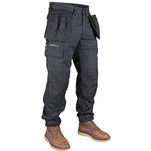 Dunderdon P11 Holster Pockets Trousers Cordura Black Size W36L34 DW1