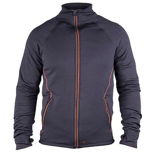 Snickers S27 Stretch Sweatshirt Navy &Orange Size S DW4