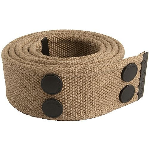 Snickers Canvas Belt Khaki &Black Size 33 &42 DW7