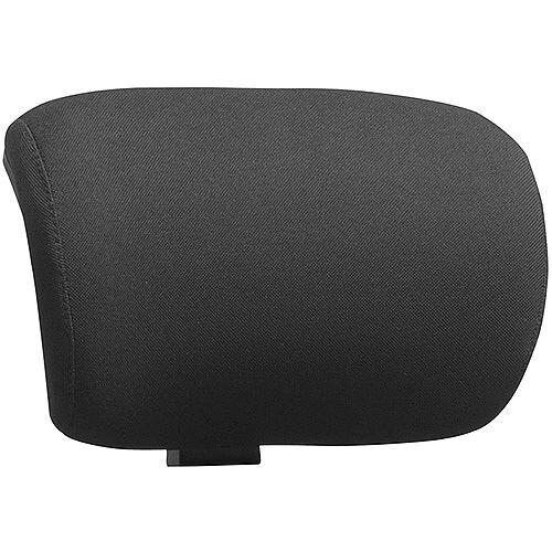 Molet Black Frame Black Fabric Headrest