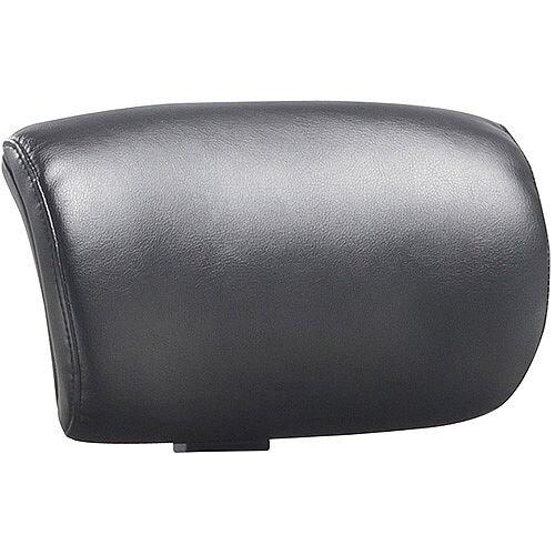 Molet Black Frame Black Leather Headrest