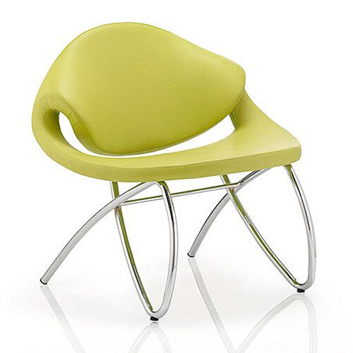 Beau Reception Boardroom &Visitor Chair Green With Arms