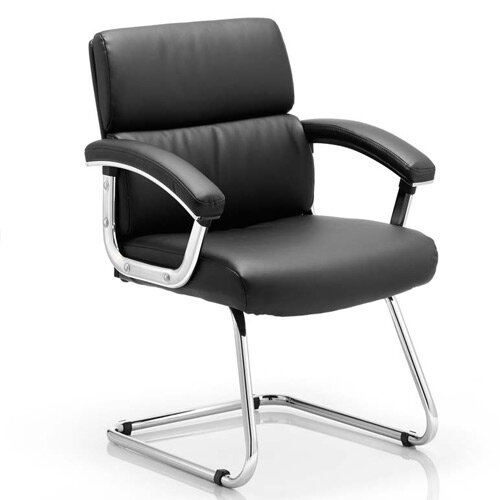 Desire Boardroom &Visitor Cantilever Chair Black With Arms