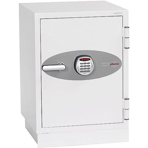 Phoenix Datacombi DS2501E Size 1 Data Safe with Electronic Lock White 63L 90min Fire Protection