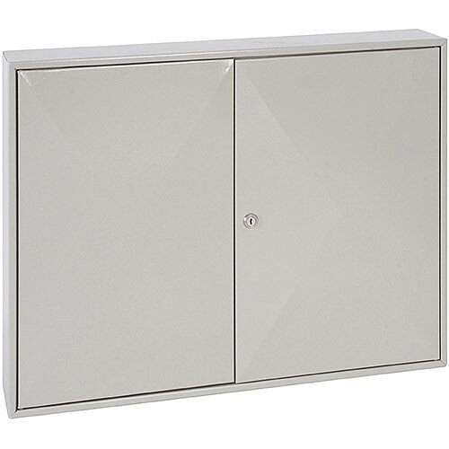 Phoenix Keysure KC0303K 200 Hook Deep Key Cabinet with Key Lock Light Grey